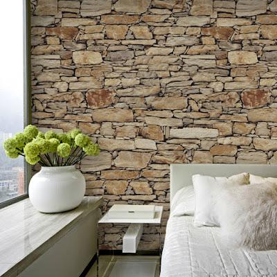 stentapet sovrum fototapet stenar stenvägg 3d fondtapet