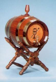 Tonel barril de 1 y 2 litros
