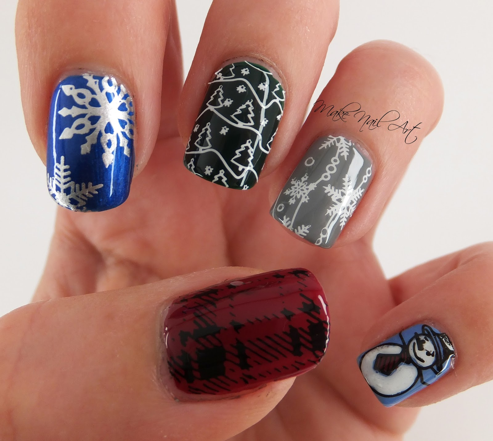 Make nail art winter vibes stamping nail art design tutorial it turns out something like a mix and match winter inspired nail design and im happy with it the stamping plates worked fine with no problems prinsesfo Choice Image