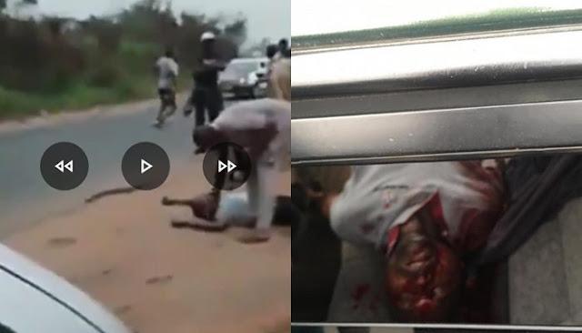 Customs officer shoots and kills Innocent Nigerian man