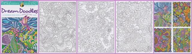 kleurboek doodles - nieuwe kleurboeken