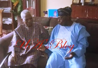 2019: Desperate Obasanjo Meets Old Foes, The Afenifere Leaders After 20yrs To Plot Buhari's Sack