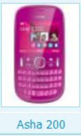 Nokia Asha 200 all firmware versions