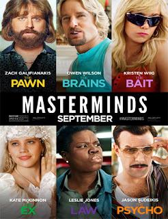 Masterminds (De-mentes criminales) (2016)
