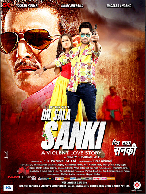 Watch Online Dil Sala Sanki (2016) Full Hindi Movie HD Download 720P
