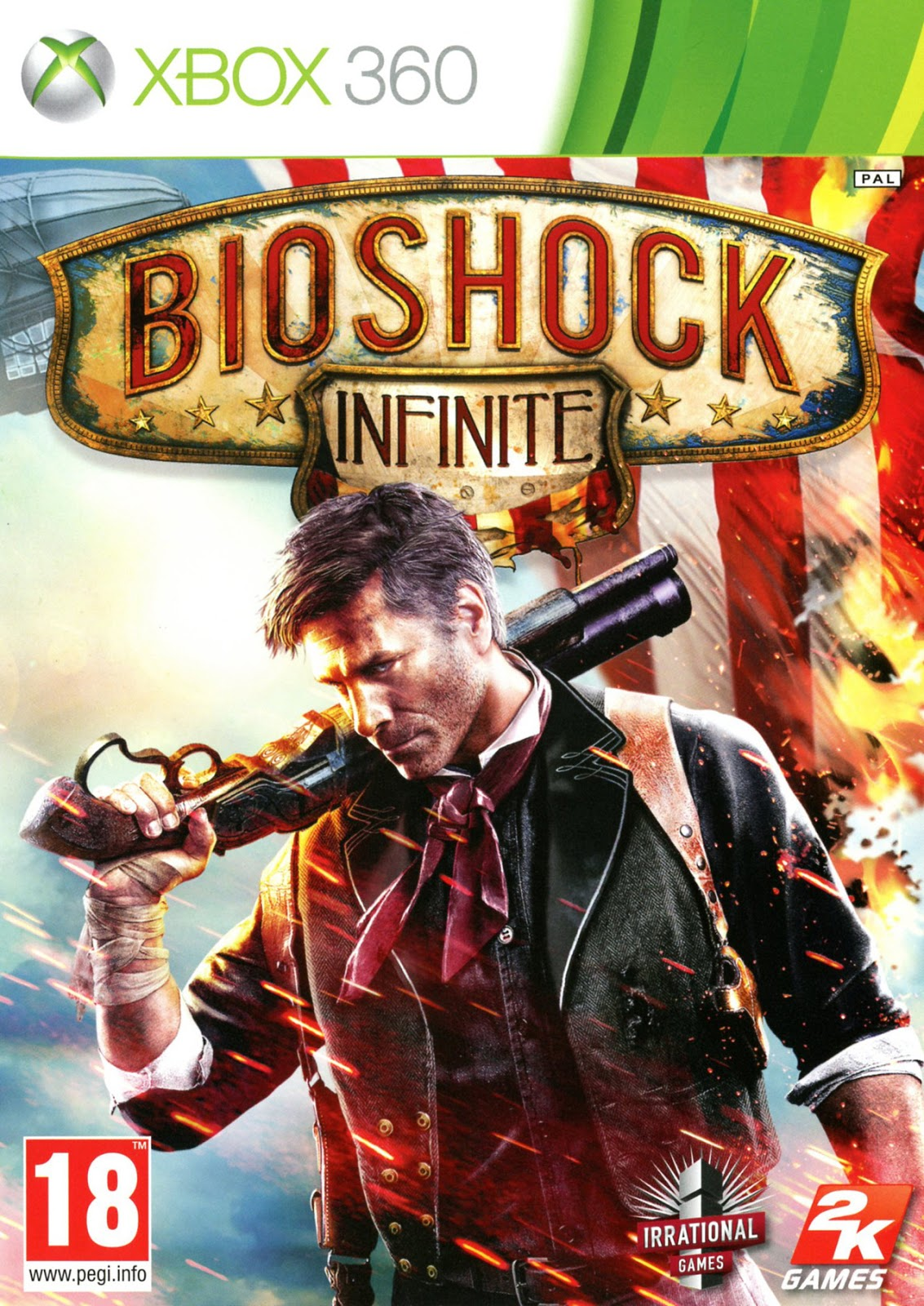 jaquette bioshock infinite xbox 360 cover avant g 1364207312 - BioShock [Spanish] [Region Free] XBOX360