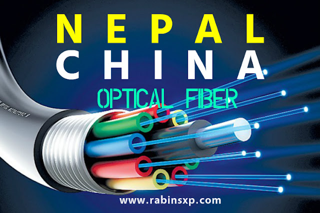 Nepal-China Optical Fiber connection