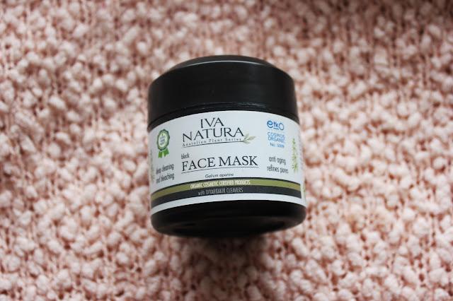 Jak sprawdzają się nowości pielęgnacyjne? Iva Natura czarna maska oraz KEJ hydrolat z oczaru wirginijskiego.