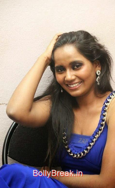 Anusha-Photo-Stills-55, Anusha Hot HD Images  in Blue Dress