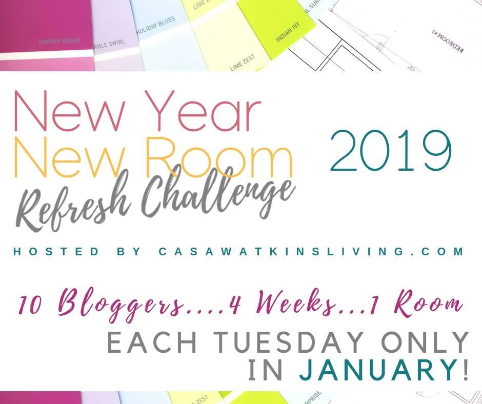 New Year New Room Refresh Challenge   House Homemade