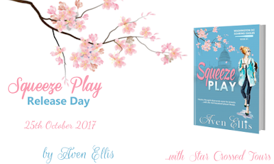 Release day blitz: Squeeze Play - Aven Ellis ( + extract!)