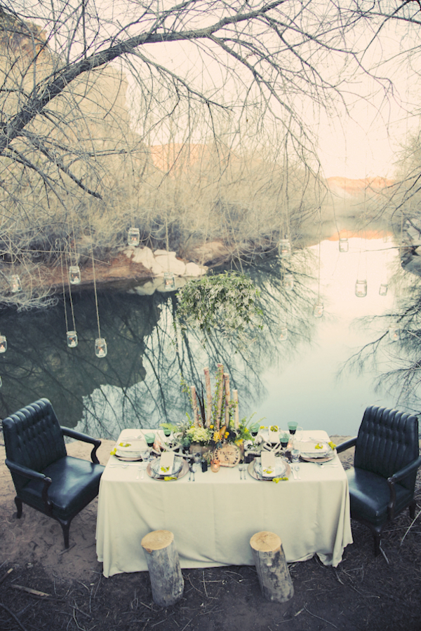 bride+groom+bridal+dress+gown+floral+hair+wreath+rustic+woodland+ecofriendly+eco+friendly+green+emerald+color+of+the+year+pantone+cake+dessert+table+reception+centerpiece+blue+hipster+fall+autumn+gideon+photography+37 - Woodland Fairytale