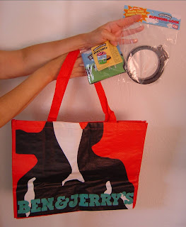 Ben & Jerry Tote and prize pack.jpeg