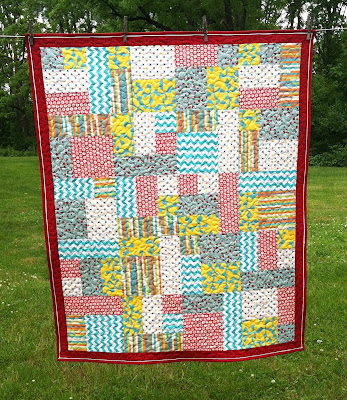 Yellow Brick Road, Charity/Donation Quilt