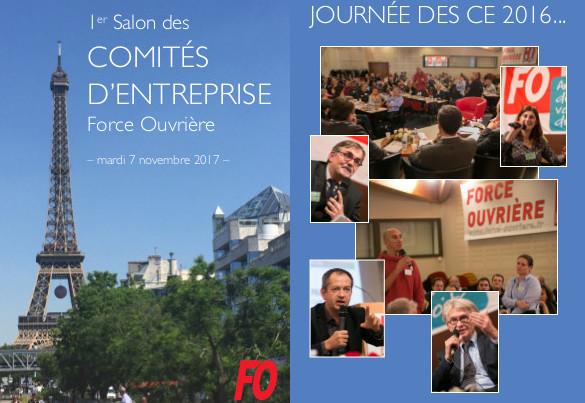 Comités d'Entreprise : la confédération FO organise son 1er salon