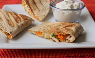 Rosemary Chicken Quesadillas