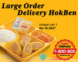 Nomor telepon hokben delivery order seluruh indonesia
