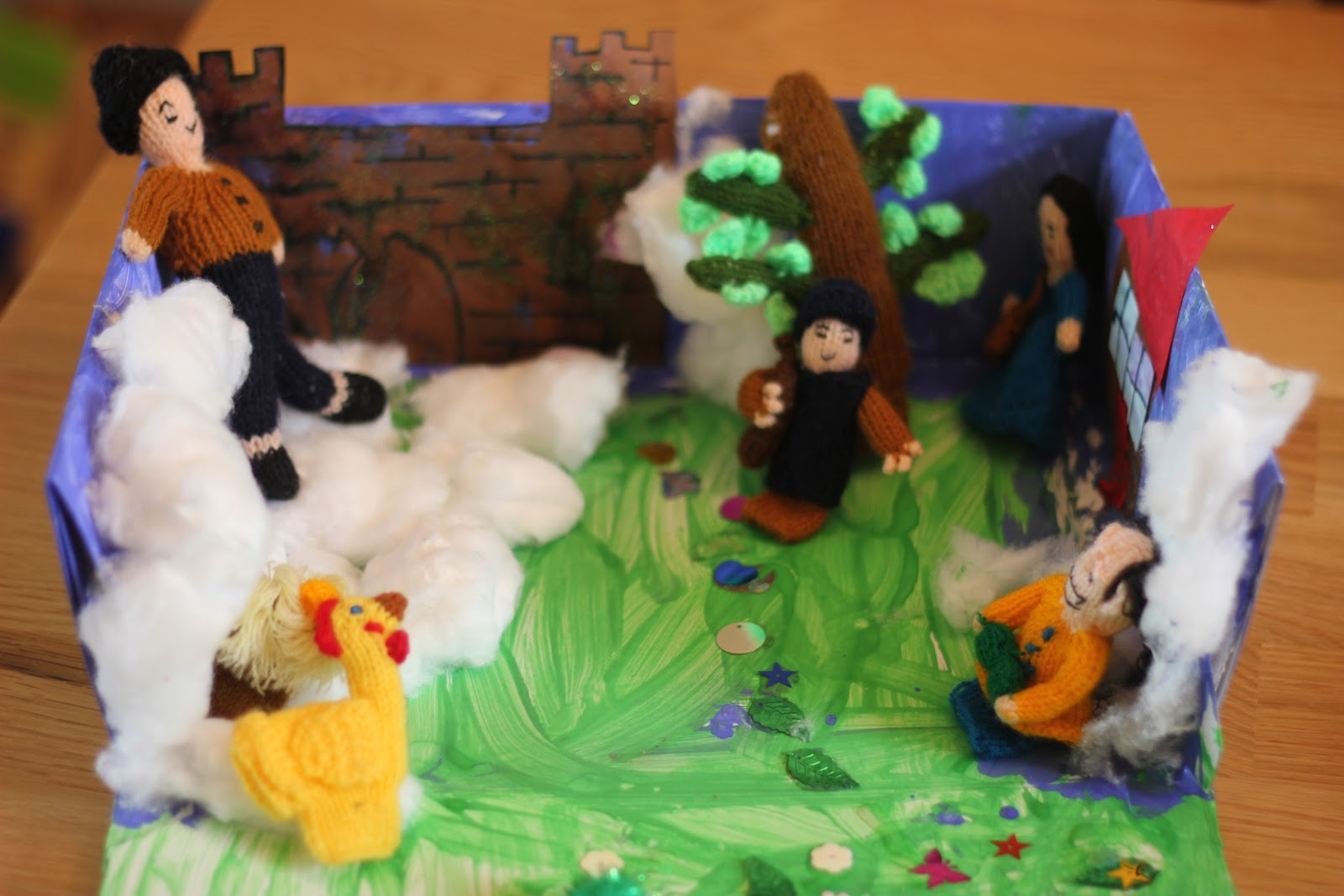 Jack And The Beanstalk Story Box