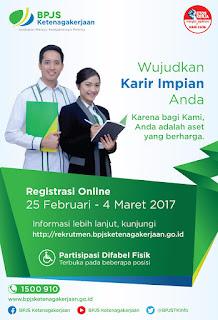Pengumuman Hasil Seleksi Administrasi BPJS Ketenagakerjaan (Tahun 2017)