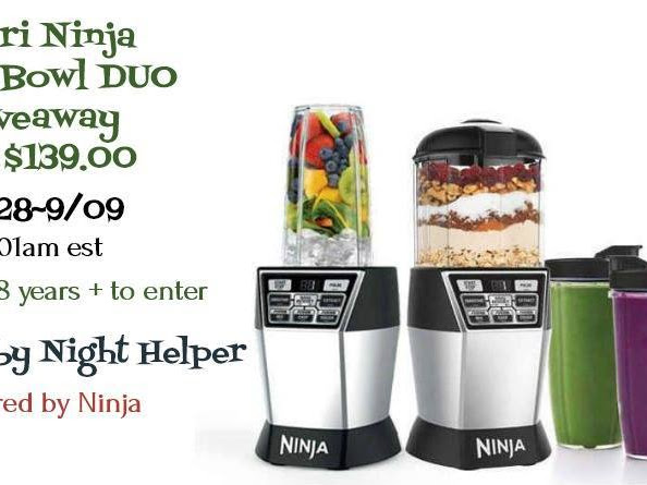 Nutri Ninja Nutri Bowl Duo #Giveaway