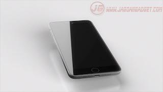 Desain iPhone 7 Bagian Depan