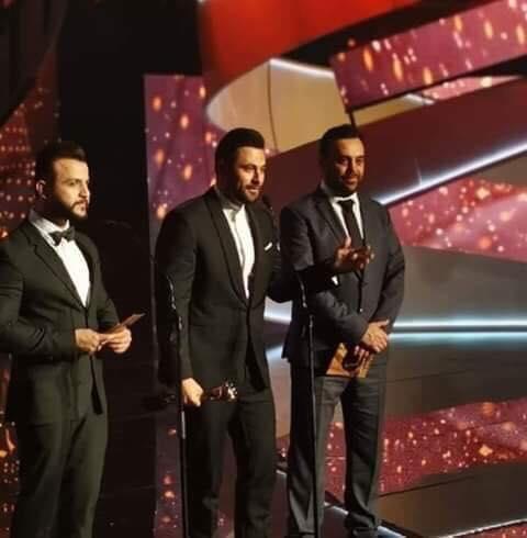 هادي أسود يحصد جائزة أفضل نجم غناء عربي