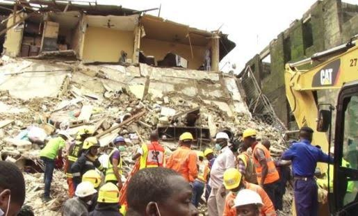 Three Storey Building Collapse In Owerri Imo State