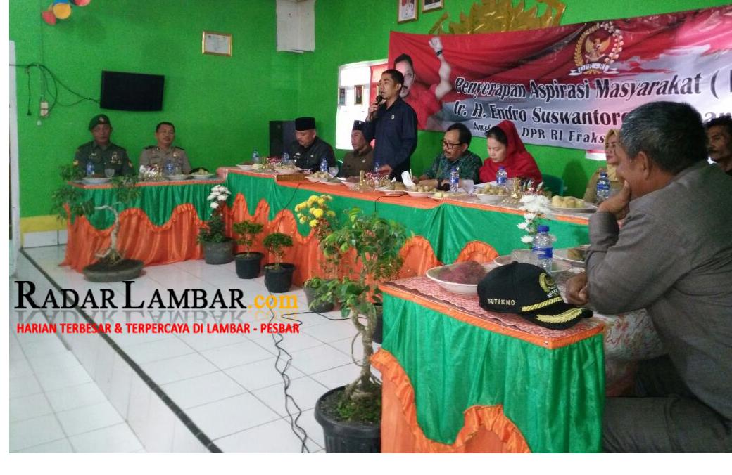 Anggota DPR-RI Asal Lampung Ini Janji Perjuangkan Nasib Warga Sukapura
