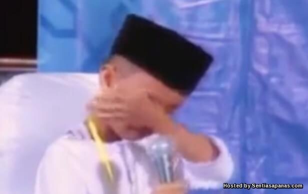 Video Hafiz Menangis