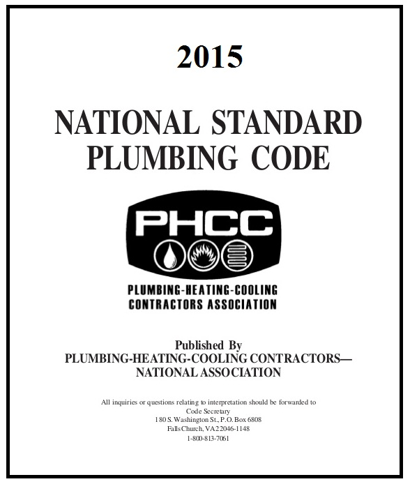 Download National Standard Plumbing Code