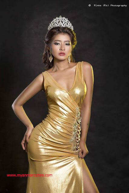 Miss Heritage International Myanmar 2016 - Chaw Kalayar