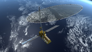 NISAR Satellite Concept Image - Synthetic Aperture Radar Imaging