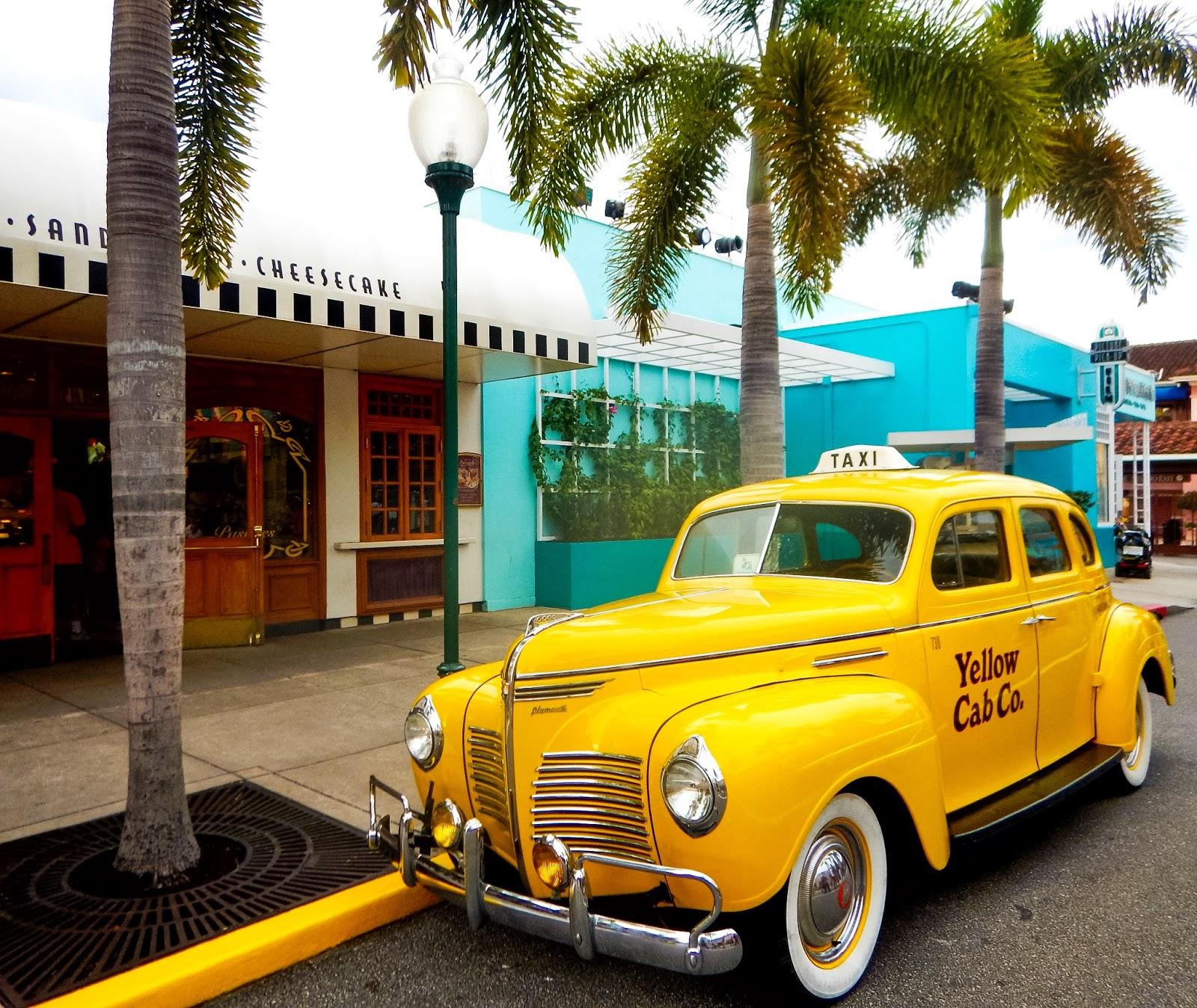 yellow cab co. at universal studios in orlando