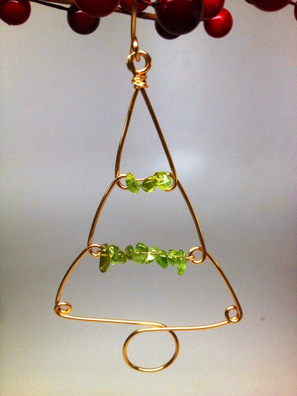 SoftFlexGirl: Four DIY Christmas Tree Wire Ornaments Made ...