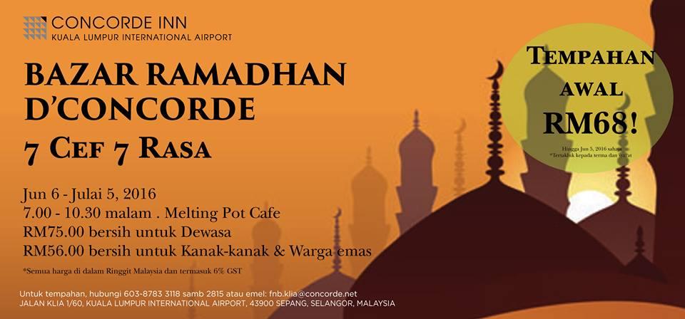 buffet ramadhan concorde inn klia
