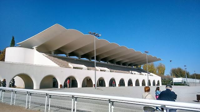 Hipódromo de la Zarzuela. Gradas