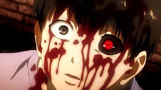 Ken Kaneki, główny bohater anime Tokyo Ghoul