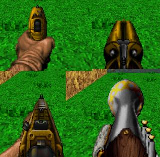 Doom - The Golden Souls 2 - Weapon Upgrades