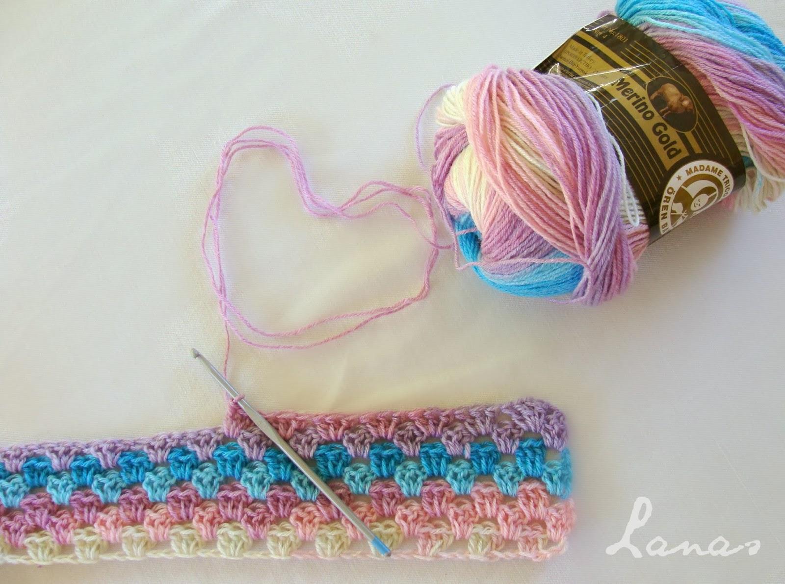 Lanas De Ana Wip 2 Baby Blankets