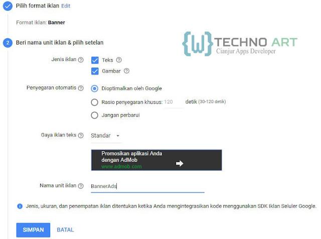 WildanTechnoArt-Setelan Unit Iklan Spanduk/Banner Ads
