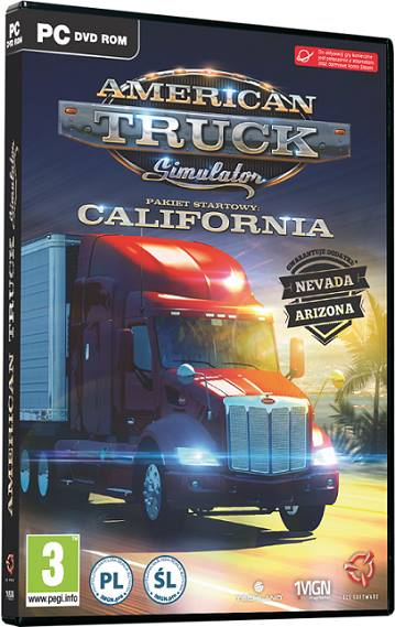 American Truck Simulator 2017 California Free Download For PC