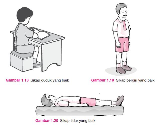 sikap tubuh yang baik