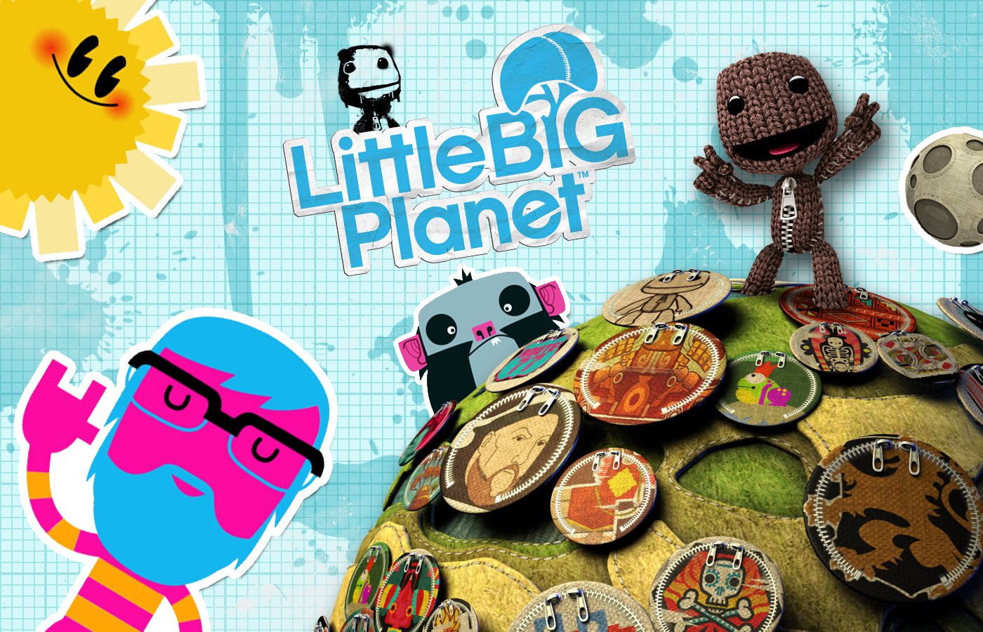 Little Big Planet Wallpaper: SuperPhillip Central: SuperPhillip's Favorite VGMs