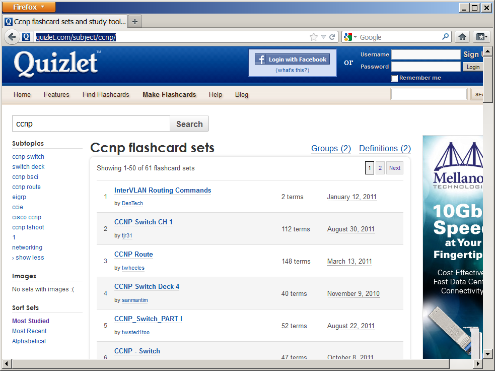 in search of the cert: quizlet...