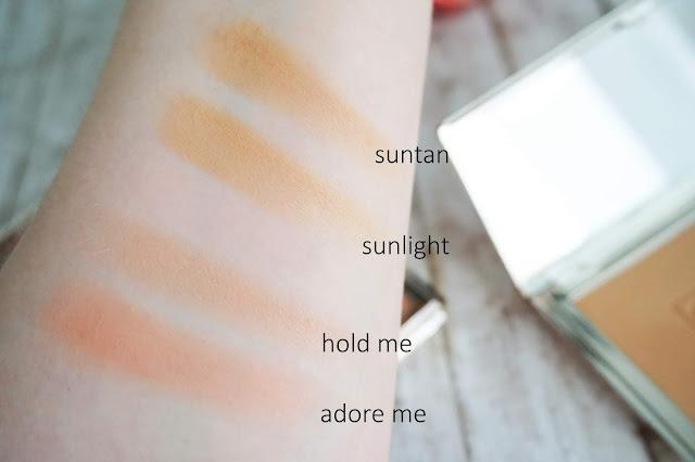 Sunswept Bronzer Duo in Light to Medium Blush Bouquet Blush Duo in Adore