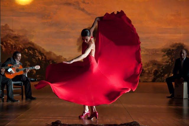 Apresentação de Flamenco em Barcelona