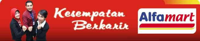 Lowongan Kerja Staf Finance Alfamart Rembang