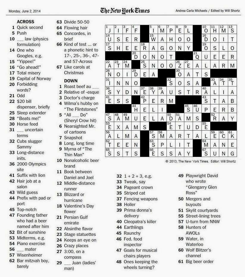 picture about Eugene Sheffer Crossword Puzzle Printable identified as Web page with essays crossword - Printable Paper. Website page with