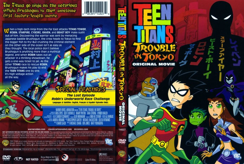 Original Teen Titans Dvd