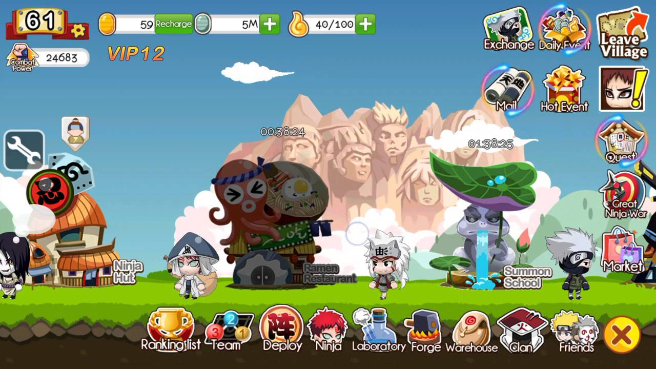 Cheat Ninja Heroes di Android Terbaru 2017